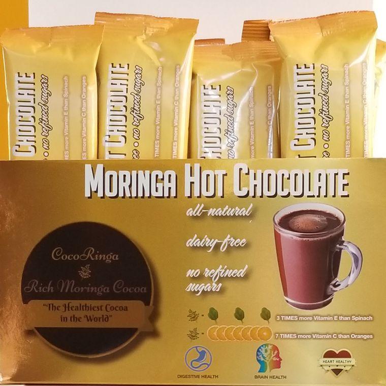 CocoRinga Moringa Hot Chocolate