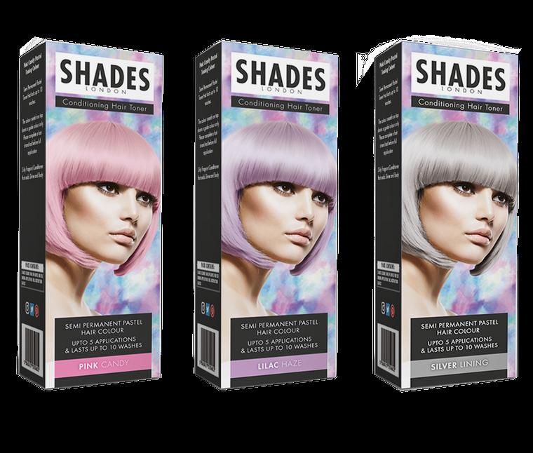 Shades London: Pastel Conditioning Hair Toners