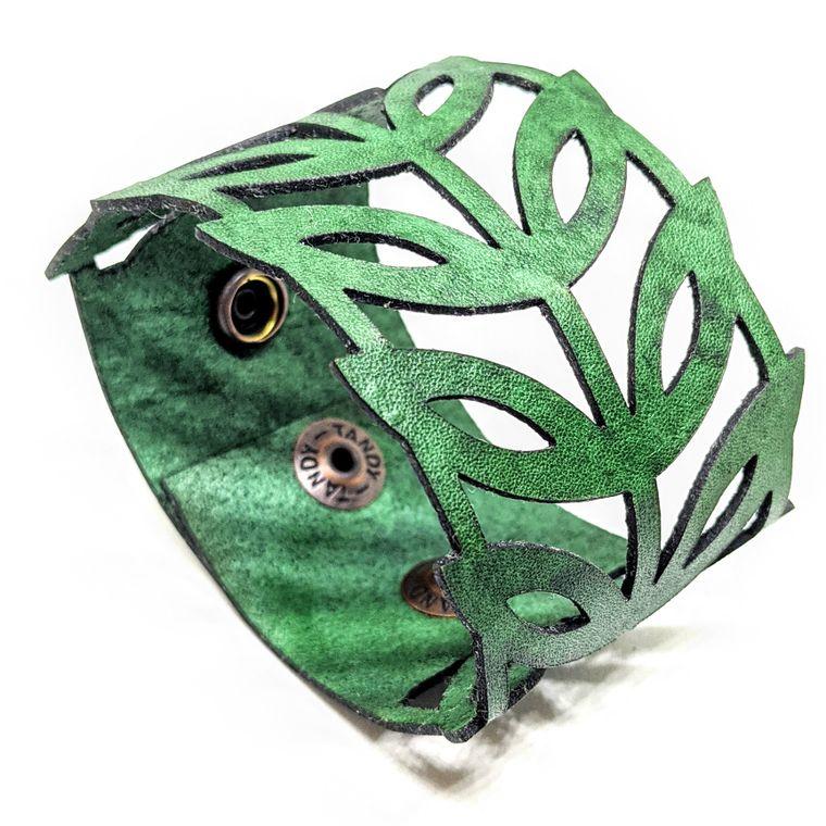 THE LEAF CUFF - Green