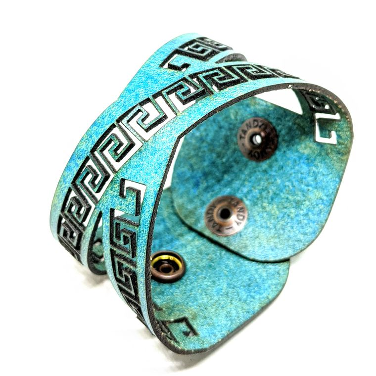 THE KEY CUFF - Turquoise