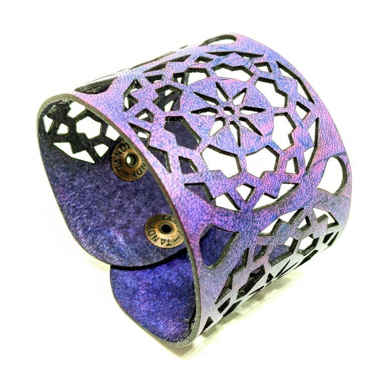 THE MANDALA CUFF - Purple