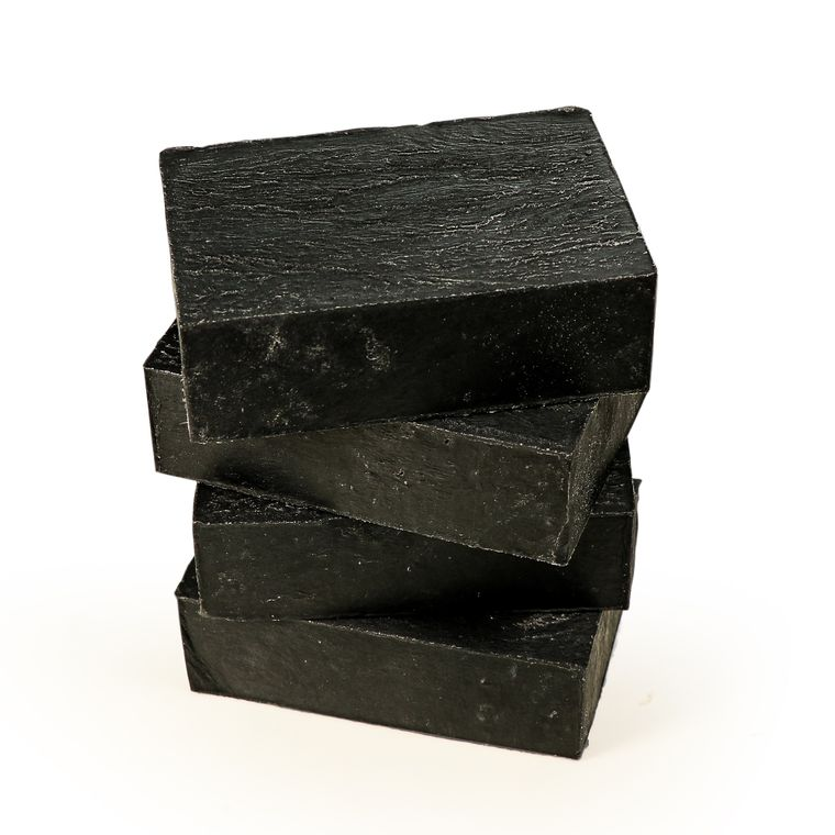 CLEANSE Charcoal + Clay Soap Bar - Face, Body + Detox, All Natural, Vegan + Cruelty-Free, 4 oz