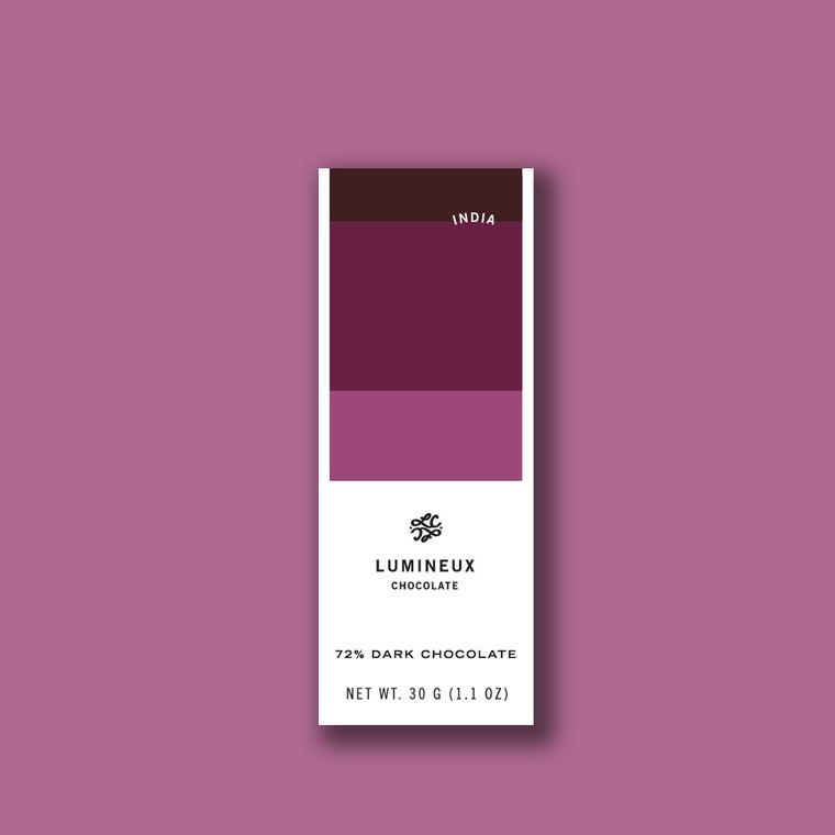 72% India Dark Chocolate Tasting Tablet