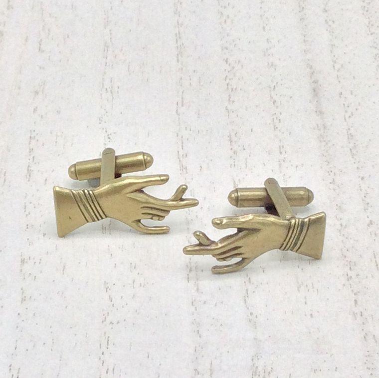 hand cufflinks - CL36