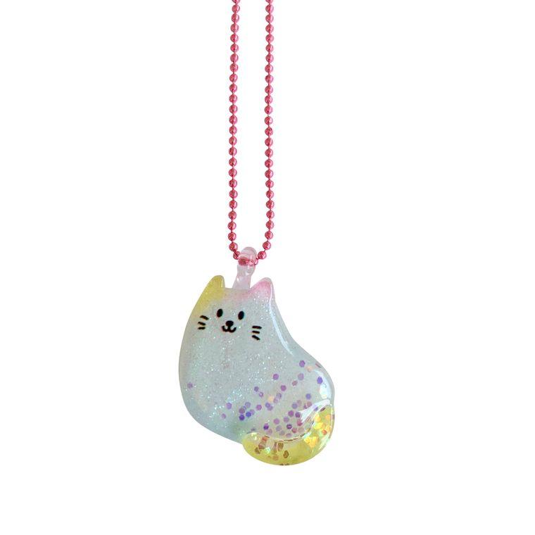 Ltd. Pop Cutie Glitter Cat Necklaces -