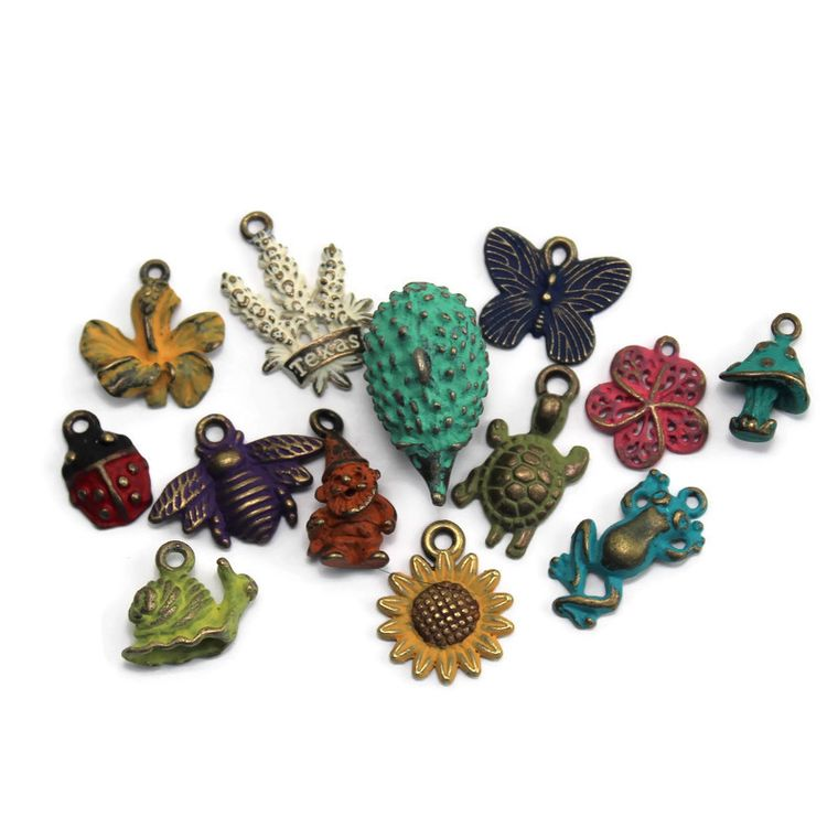 Garden Charm Collection Charm Only 12 Pack