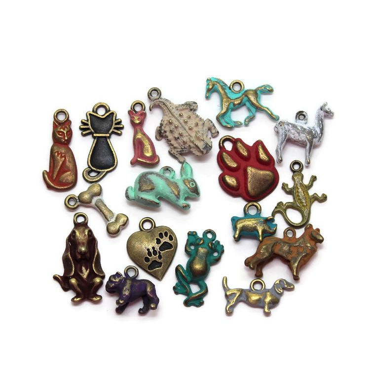 Pets Charm Collection Charm Only 12 Pack