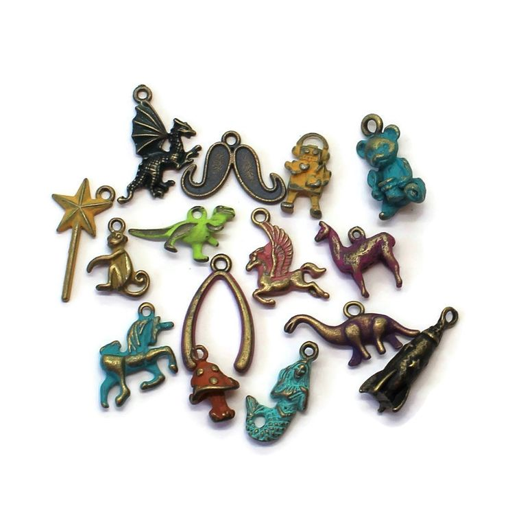Whimsy Charm Collection Charm Only 12 Pack