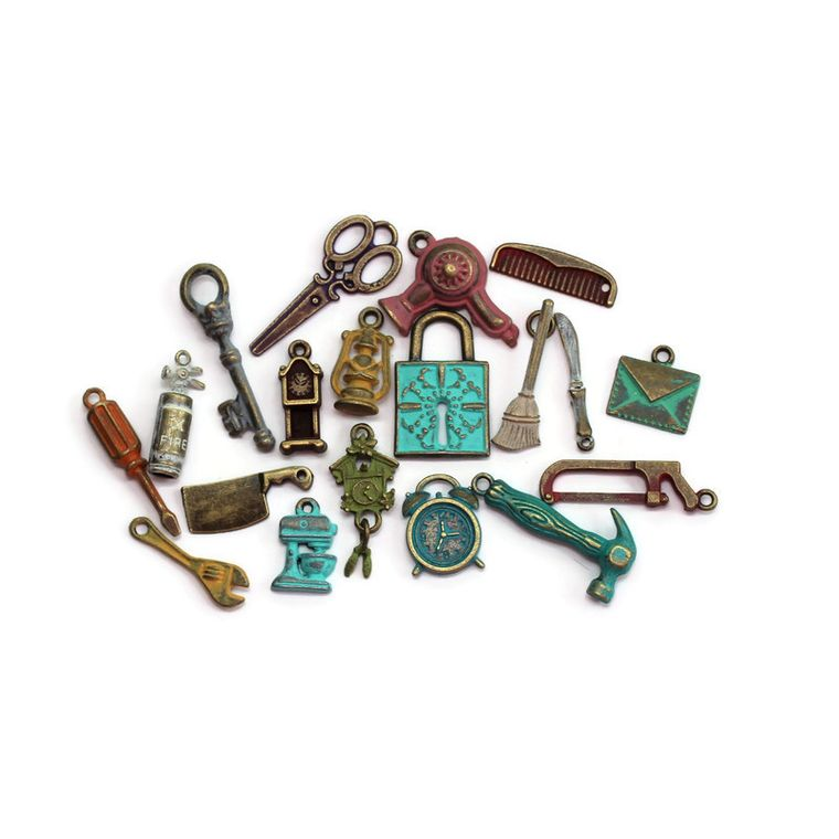 Around the House Charm Collection Charm Only 12 Pack