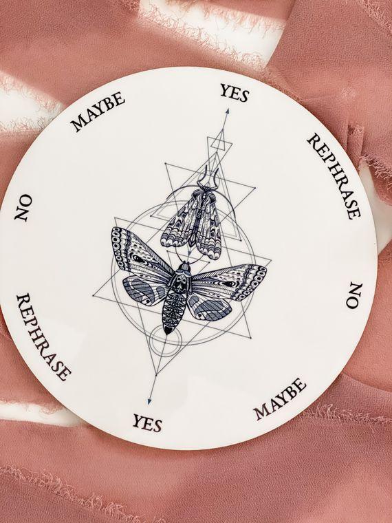 Geometric Butterfly and Moth Pendulum Board - 8 inch