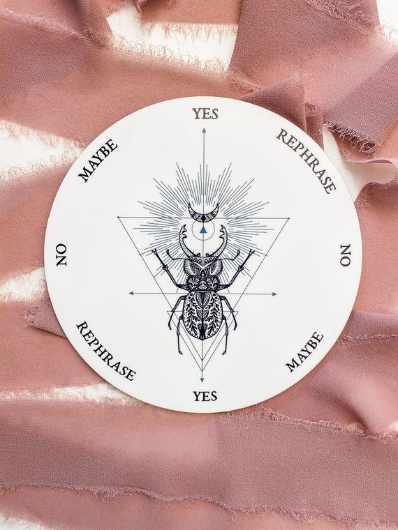 Geometric Beetle Pendulum Board - 8 inch