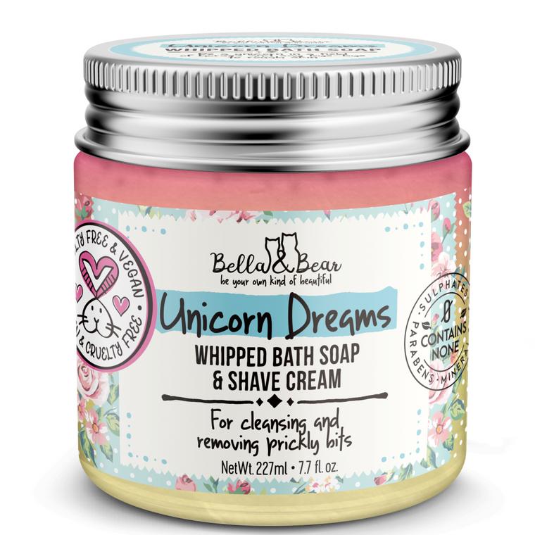 Unicorn Dreams Whipped Bath Soap & Shave Cream 6.7oz