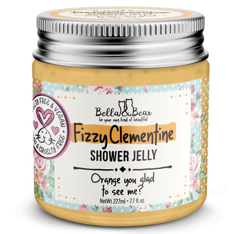 Fizzy Clementine Shower & Bath Jelly 6.7oz