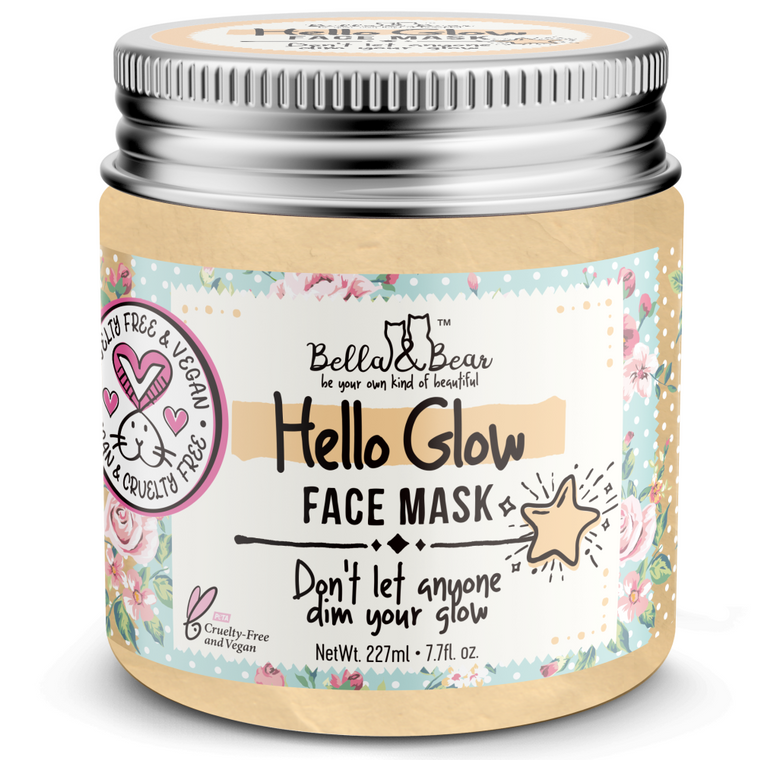 Hello Glow Face Mask for Brightening & Tightening 6.7oz