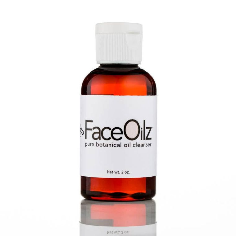 Face Oilz Botanical Oil Cleanser and Makeup Remover 2 oz.