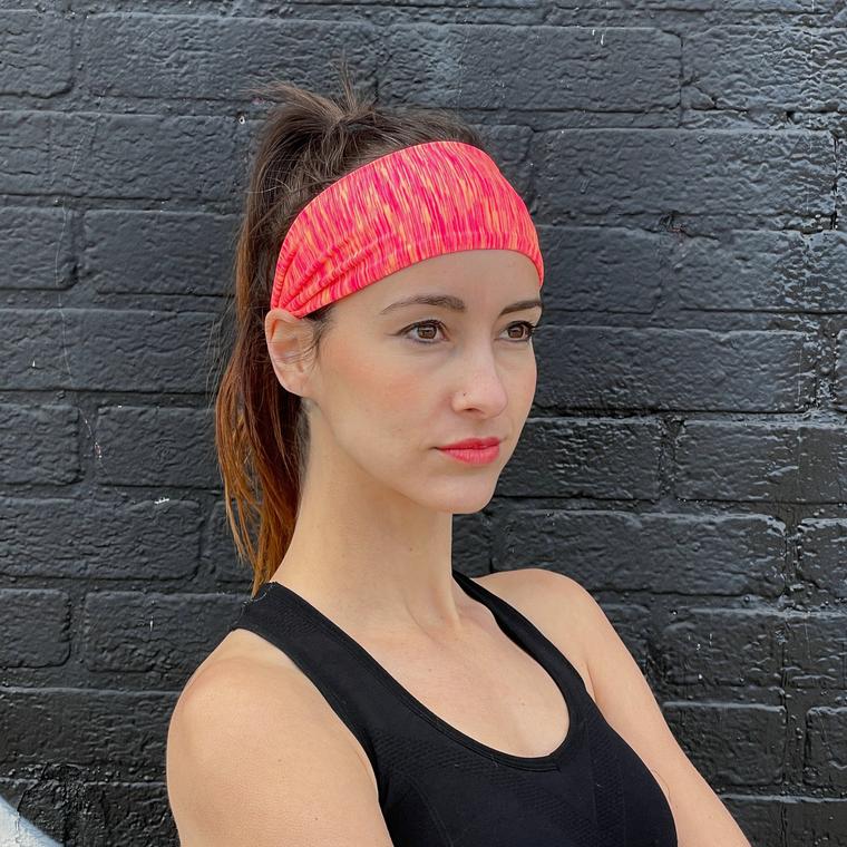 Namaste Extra-Wide Sports & Fitness Sweat-Wicking Headband