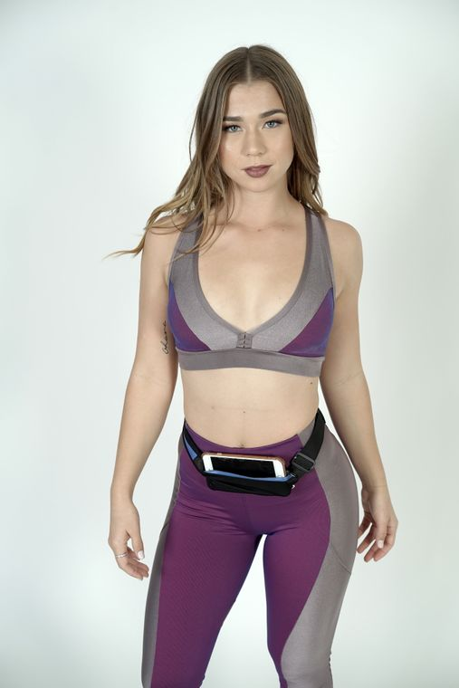 Dual Pocket Running Belt Sports and Travel Fanny Pack