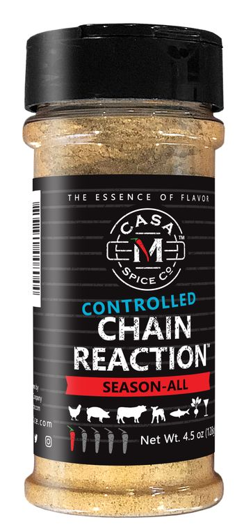 Casa M Spice Co® Controlled Chain Reaction® Season-All (Plastic Shaker)