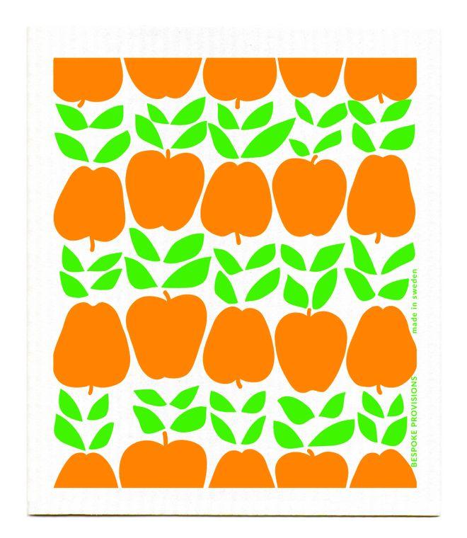 Apples Swedish Dishcloth