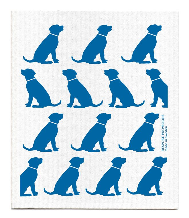Dogs Swedish Dishcloth