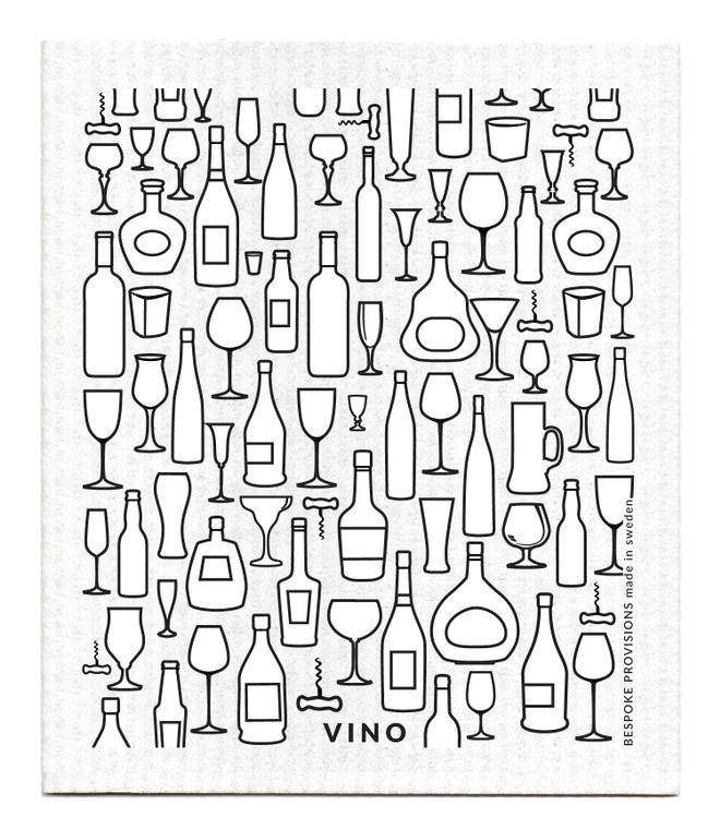 Vino Swedish Dishcloth