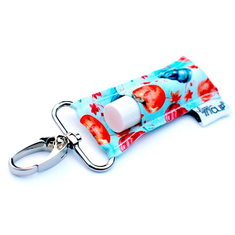 Aqua Pumpkins LippyClip Lip Balm Holder