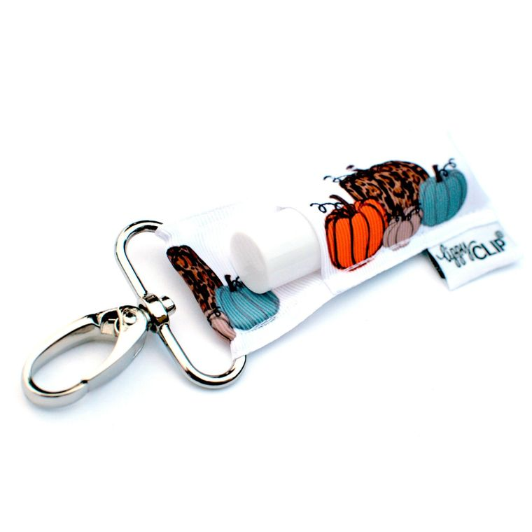 Leopard Pumpkins LippyClip Lip Balm Holder