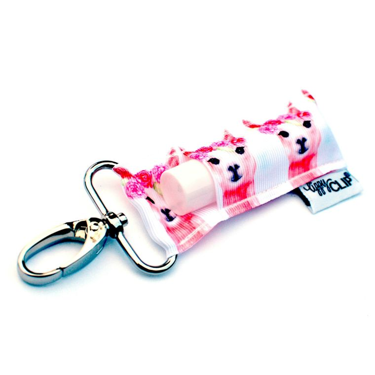 Llama Love LippyClip Lip Balm Holder