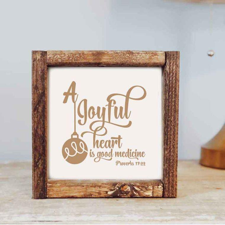 7 x 7  A Joyful Heart