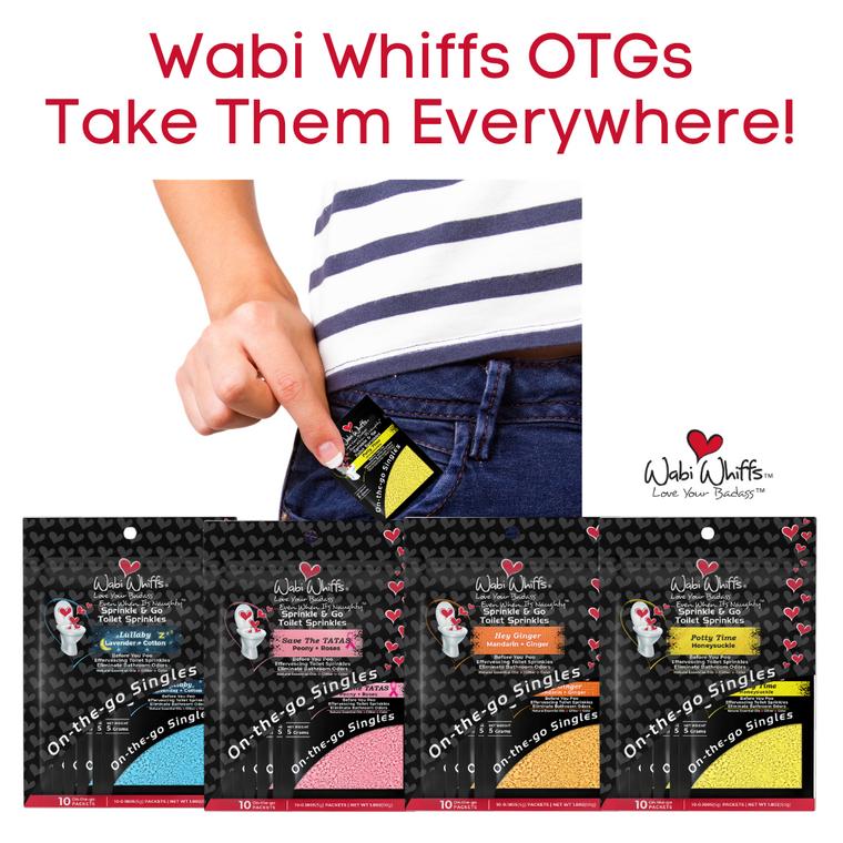 Wabi Whiffs On-The Go Toilet Sprinkle Singles Collection