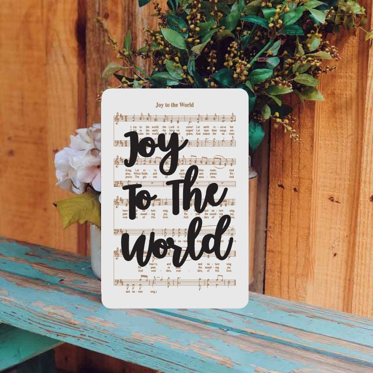 Joy to the World - Unframed
