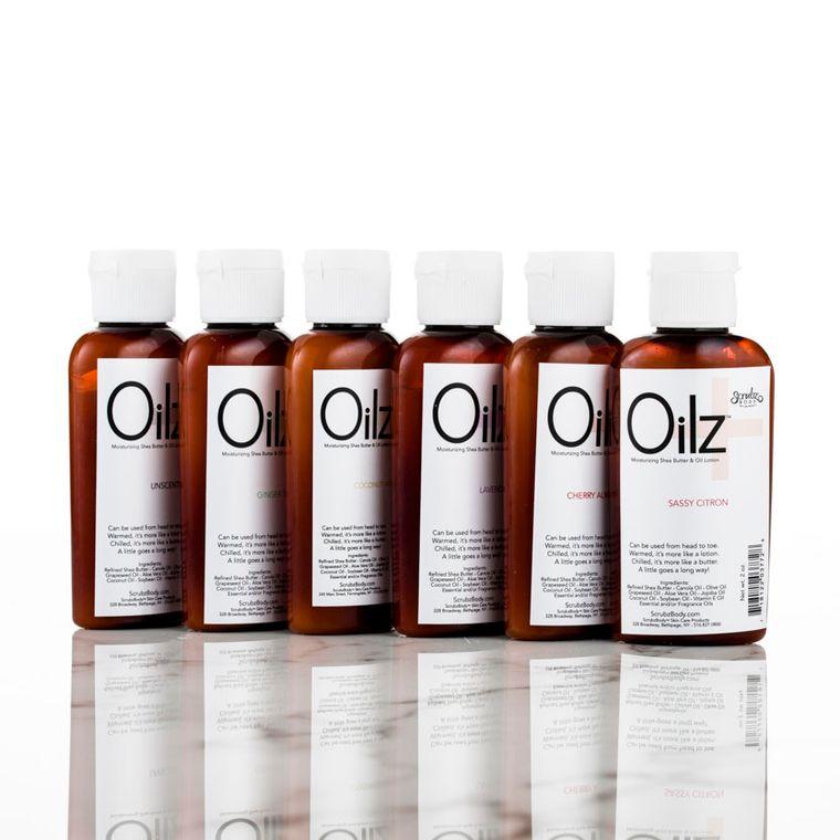 Oilz+ Shea Butter & Botanical Oil Lotion Citrus Zest