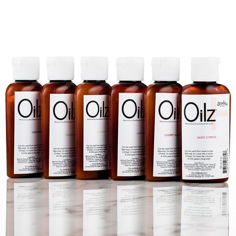 Oilz+ Shea Butter & Botanical Oil Lotion Unscented