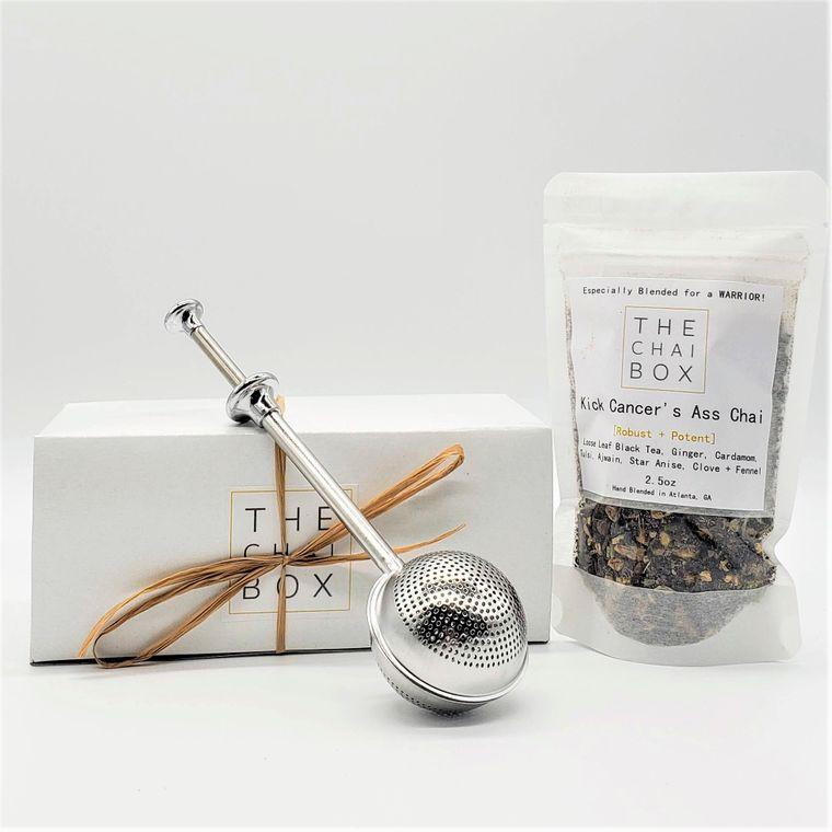 Kick Cancer's Ass Chai Gift Set