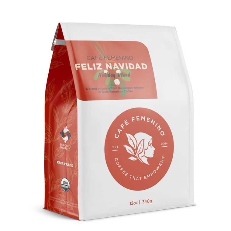 Café Femenino Holiday Blend Whole Bean Coffee