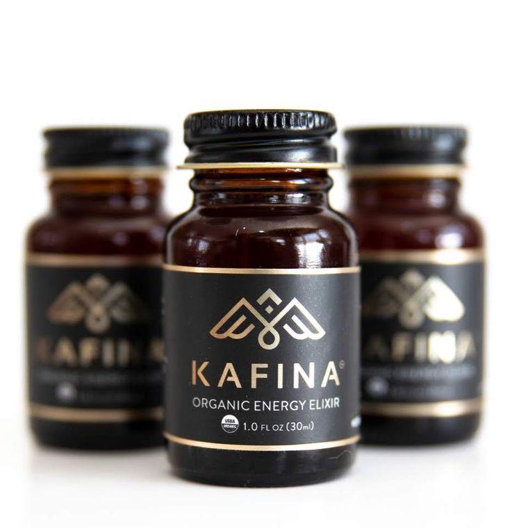 Kafina Organic Energy Elixir 1oz - 12ct Counter Display