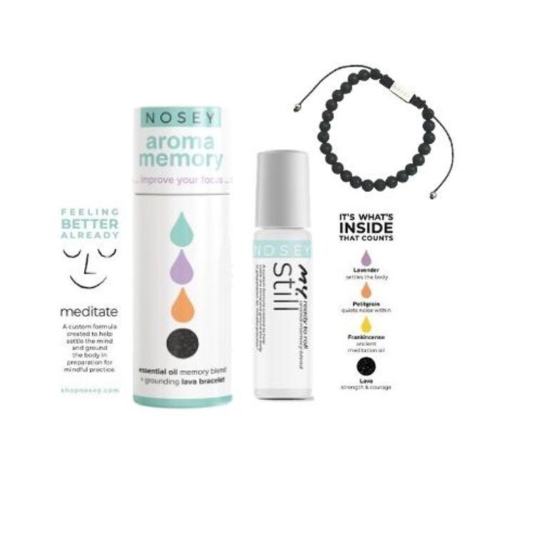 Aromatherapy Kit with Bracelet - Meditation