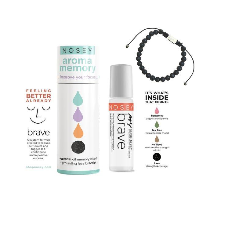 Aroma Memory Wellness Kit - Brave