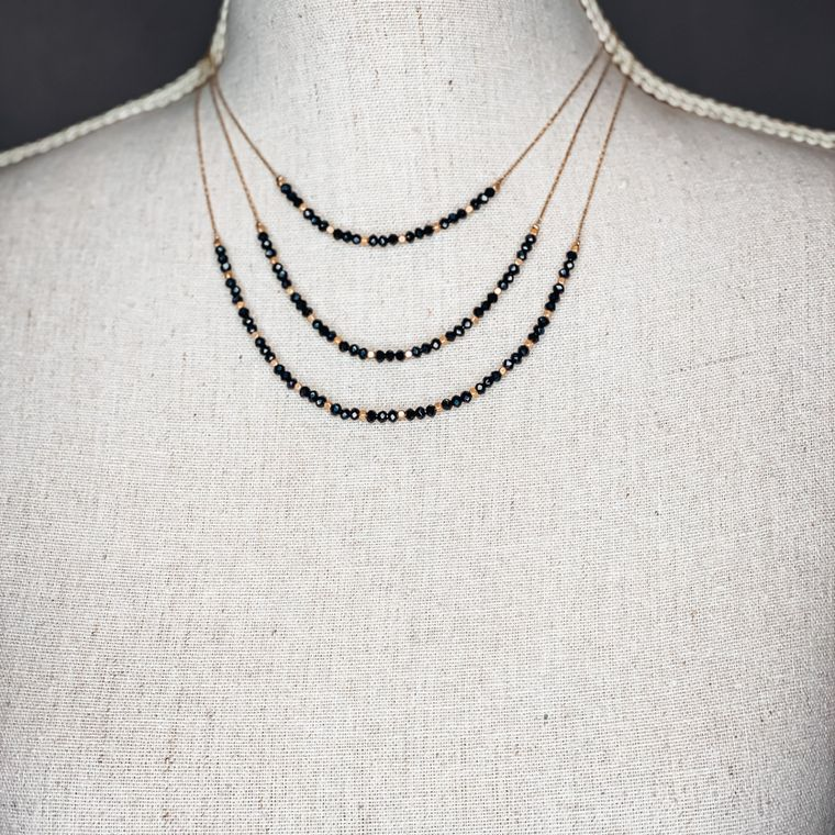 Beckham Necklace - Black