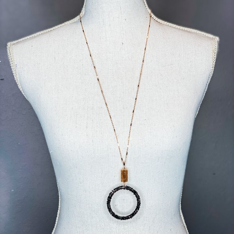 Reese Necklace - Black