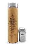 16.9oz NAMASTE Bamboo Water Bottle