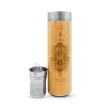 16.9oz PEACE Bamboo Water Bottle