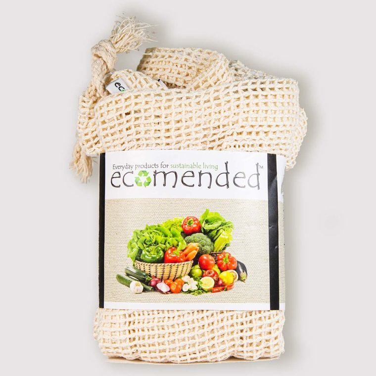 Cotton Bags with Tare Weight -Mesh