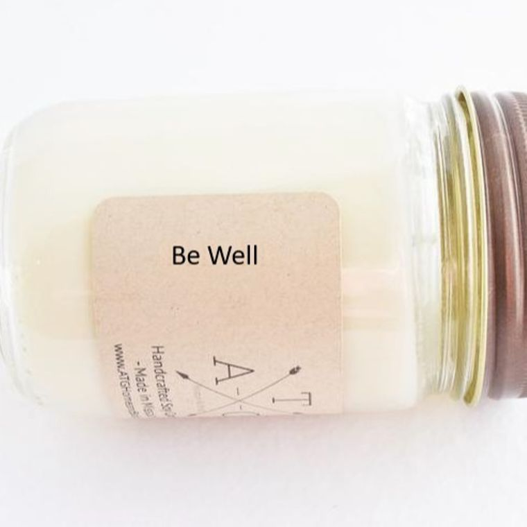 Be Well Scented - 12 oz. jar soy candle