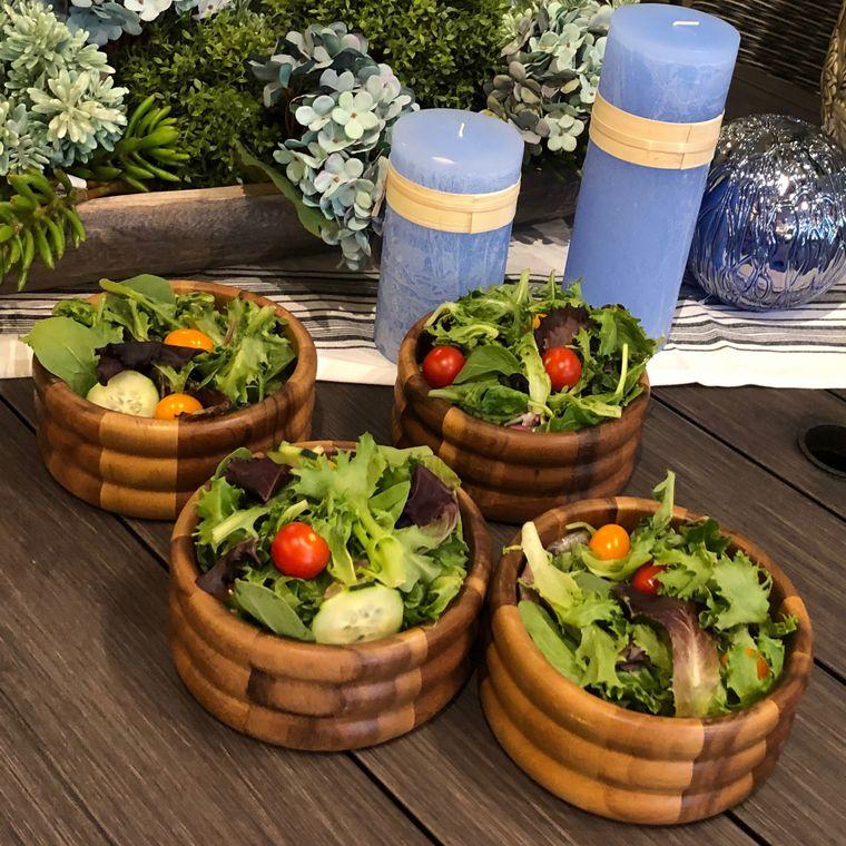 Individual Salad Bowls -set of 4