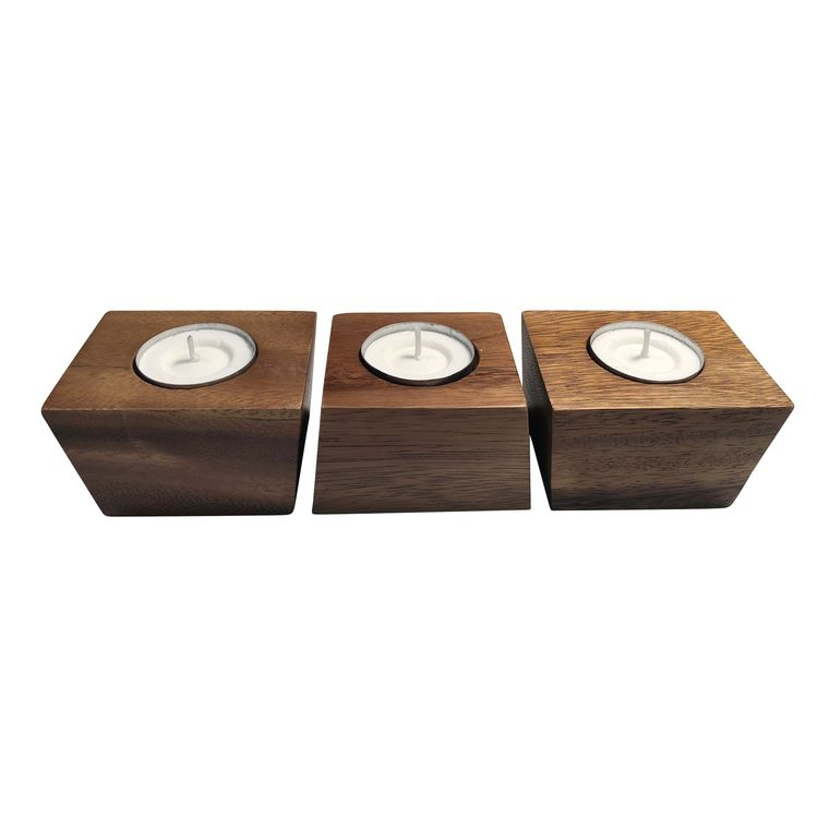 Candle Holders - set of 3