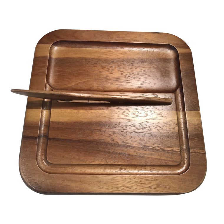Cheeseboard with Knife - Small rectangular