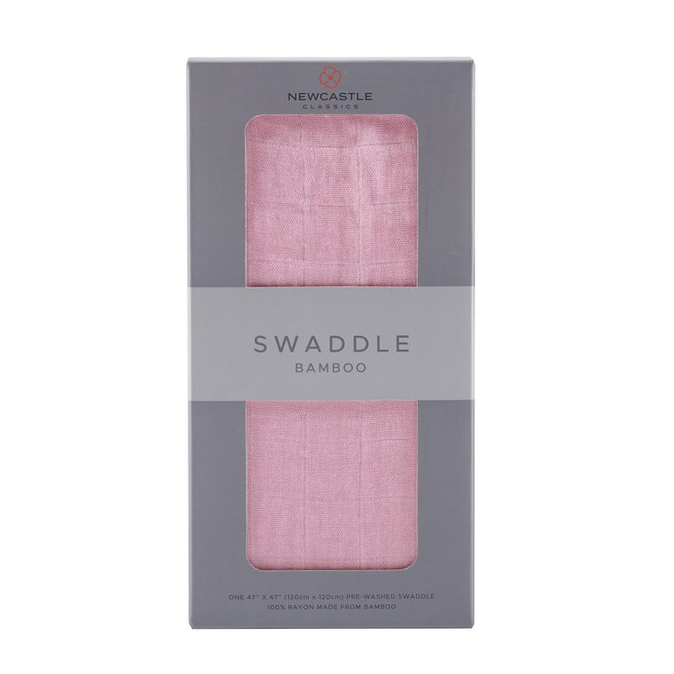 Solid Pink Swaddle