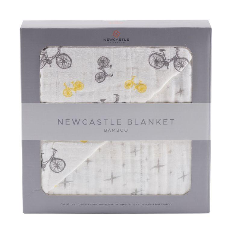 Vintage Bicycle and Northern Star Newcastle Blanket