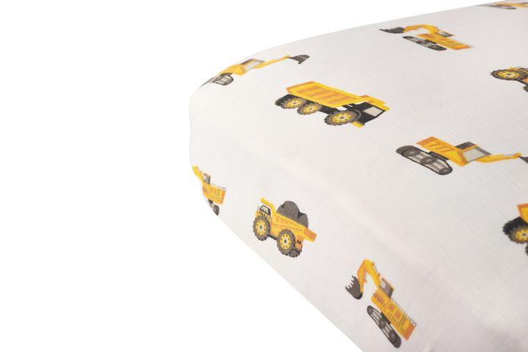 Yellow Digger Crib Sheet